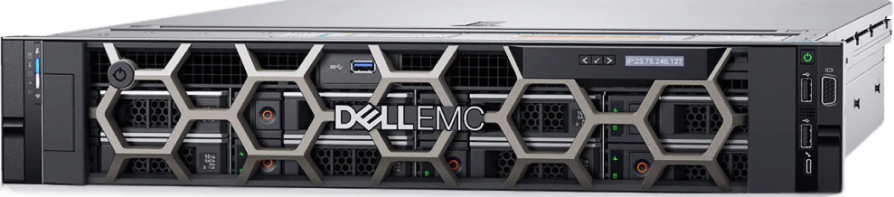 Стоечный сервер Dell EMC PowerEdge R740